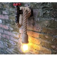 China Retro Hanging Bulb Wall Light Fixture Nordic Vintage Design  2 Years Warranty on sale
