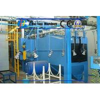 Quality Automatic Catenary Type Wheel Blasting Machine Line For Gas Cylinders for sale