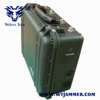 China WiFi / Bluetooth Portable Signal Jammer Blocker 2g 3G 4G Cellular Phone Jamming Device on sale