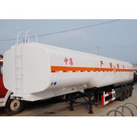 Quality CIMC new tri-axle diesel fuel tank trailers trailer fuel tanker transport gasoline for sale for sale