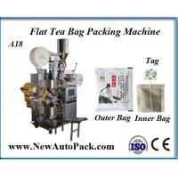 China Tea bag packing machine with thread and tag for herbal tea on sale