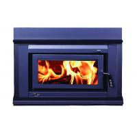 China High Heat Output Inset Wood Burning Stoves / Built In Wood Fireplace 17KW on sale