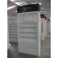 Quality Cosmetics Cabinets for Cosmetics Showroom with LED Lightings for sale