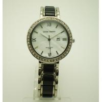 China Crystal Bezel Quartz Womens Watches , Ladies Citizen Quartz Watch Japan Movt on sale