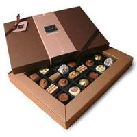 Red chocolate packaging box