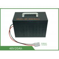 Quality Light Weight Deep Cycle Lithium Battery 48V 20Ah High Discharge Rate No Memory Effect for sale