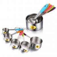 Quality Measuring Cups Set with Soft Handles for sale