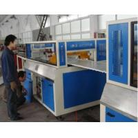 Quality 30mm TH WPC Board Production Line For Wood Powder , Waste Plastic for sale