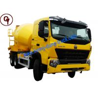 China China Sinotruk HOWO A7 Concrete Mixer Truck 25T 12m3 Capacity 6X4 Driving Type on sale
