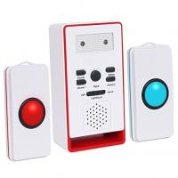 Buy cheap Caregiver Pager with Two Call Button for the Elderly Nurse Call Alert Patient from wholesalers