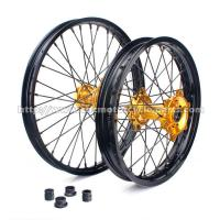 Quality Rear Motorcycle Wheels And Rims 36 Holes Different Color Combinations for sale