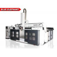 Quality Styrofoam 5 Axis CNC Router Machine For Wood Engraving Four - Row Imported Ball Bearing for sale