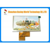 Buy cheap 400 Brightness 5.0 inch TFT LCD Touch Screen 800 × 480 Pixels Super Wide Viewing from wholesalers