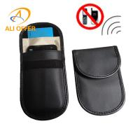 China alioffer RFID Mobile Signal Shielding Blocking Jammer Bag,4.3 Cellular Phone Anti-Radiation Pouch Case Pregnant Women on sale