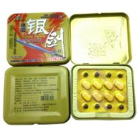 Quality Silver Sword Natural Male Penis Enlargement Pill Anti Erection Dysfunction for sale