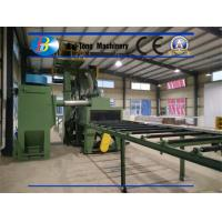 Quality Steel Plate Surface Industrial Shot Blaster , Wheel Blast Equipment Effective Cleaning Width 800 - 4000mm for sale
