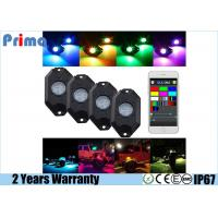 Quality RGB LED Rock Light Kits with Phone App Control Multicolor Neon Lights Under Off Road Truck SUV ATV for sale