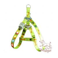 China LED dog harness, flash dog harness, multi color for choice on sale