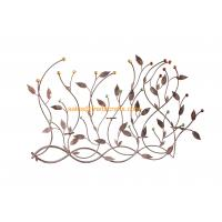 Quality Beautiful Design Metal Leaf  Acrylic Decoratived Wall Art For Home Decor for sale