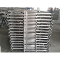 Quality Q195 pre galvanized shoring frame H-frame scaffolding, Andamio for sale