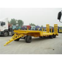 Buy cheap 10m-1+2Axles-low bed Drawbar Trailer from wholesalers