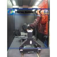 Quality Multi Axis Controlled Shot Peening Unit , Shot Peening Equipment With Shot Flow Regulator for sale
