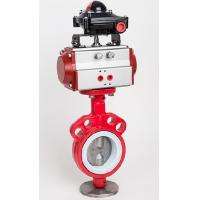 China Dyeing Machine Parts , Pneumatic Clamp Butterfly Valve on sale