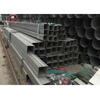 China 201 304 316L 321 Stainless Steel Rectangular Hollow Section 5.8mm--6m Length on sale