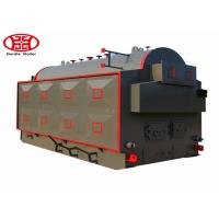 China Natural Circulation Type Industrial Wood Burning Steam Boiler Textile Plant Usage on sale