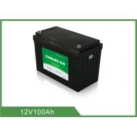 Quality Wireless Floor Scrubber Battery 12V 100Ah OEM / ODM Available for sale