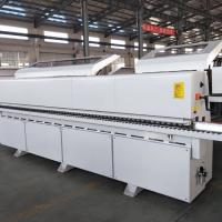 Quality High Precision Edge Banding Machine , High Efficiency Wood Automatic Edging Machine for sale