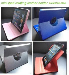 China Ipad mini protective case , ipad smart case, mini ipad leather cover holder on sale