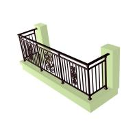 Quality wrought iron balustrade HT-B004 for sale