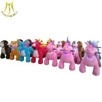 China Hansel amusement park outdoor playground walking animal electric ride on sale