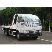 Quality Durable 6 Tons Wrecker Tow Truck , Flatbed Breakdown Recovery Truck For Rescue Conditions for sale