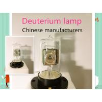 Buy Professional Deuterium Arc Lamp For Pollution Analyzer / Power Supply Equipment at wholesale prices