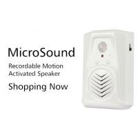 Quality COMER sound amplifier motion sound player Elevator alarm bell Voice entry exit doorbell for sale