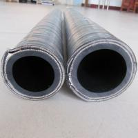 Quality Material Suction Hose With Steel Wire Reinforced Excellent Abrasion Resistance for sale