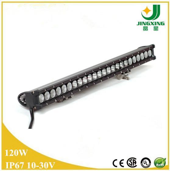 Led Shop Light Bar For Sale: Hot Sale 9-32v 25 120w 21600LM Led Light Roof Bar Offroad