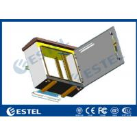 China Single Layer Pole Mount Enclosure , SPCC Galvanized Steel Outdoor Electronics Cabinet on sale