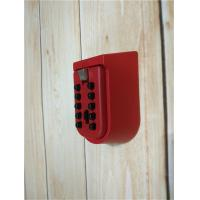 OEM Strong Key Pad Lock Box Wall Mounted Personalized With Metal Body