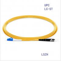 Quality LC/Upc-ST/Upc Singlemode Simplex Fiber Optic Patch Cord FTTH Cable for sale