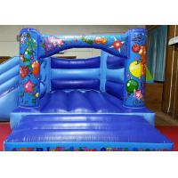 Quality Digital Printing Kids Inflatable Jumping Castle , Commercial Moonwalk Bouncy Castle for sale