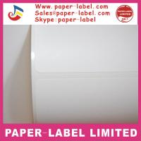 Quality best sellers removable thermal paper adhesive label for sale
