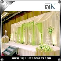China wholesale pipe and drape wedding stage backdrop decoration used pipe and pipe and drapes for weddings
