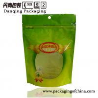 Quality Food Printed Plastic Pouches , Top Round Hole Plastic Pouch Food Packaging for sale