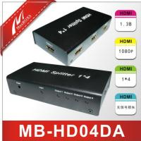 4-Port HDMI Splitter,HDMI Amplifier   MB-HD04DA