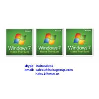 Quality Windows Product Key Code For Win 7 Home Prem FPP/OEM Key Online Activation for sale