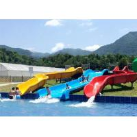 Buy cheap Commercial Above Ground Pool Slide Fiberglass Aqua Funny Equipment from wholesalers