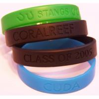 Quality Beautiful silicone bracelets with different colors for sale